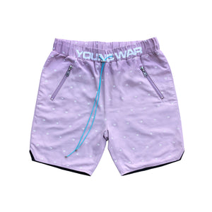 MENS SWIM SHORTS LUXURY MENSWEAR SWIMWEAR FASHION  Mauve pink Front