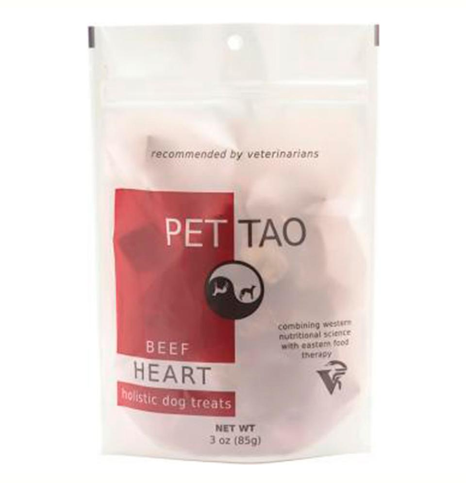 PET | TAO Freeze Dried Beef Heart Dog and Cat Treats (3oz bag)