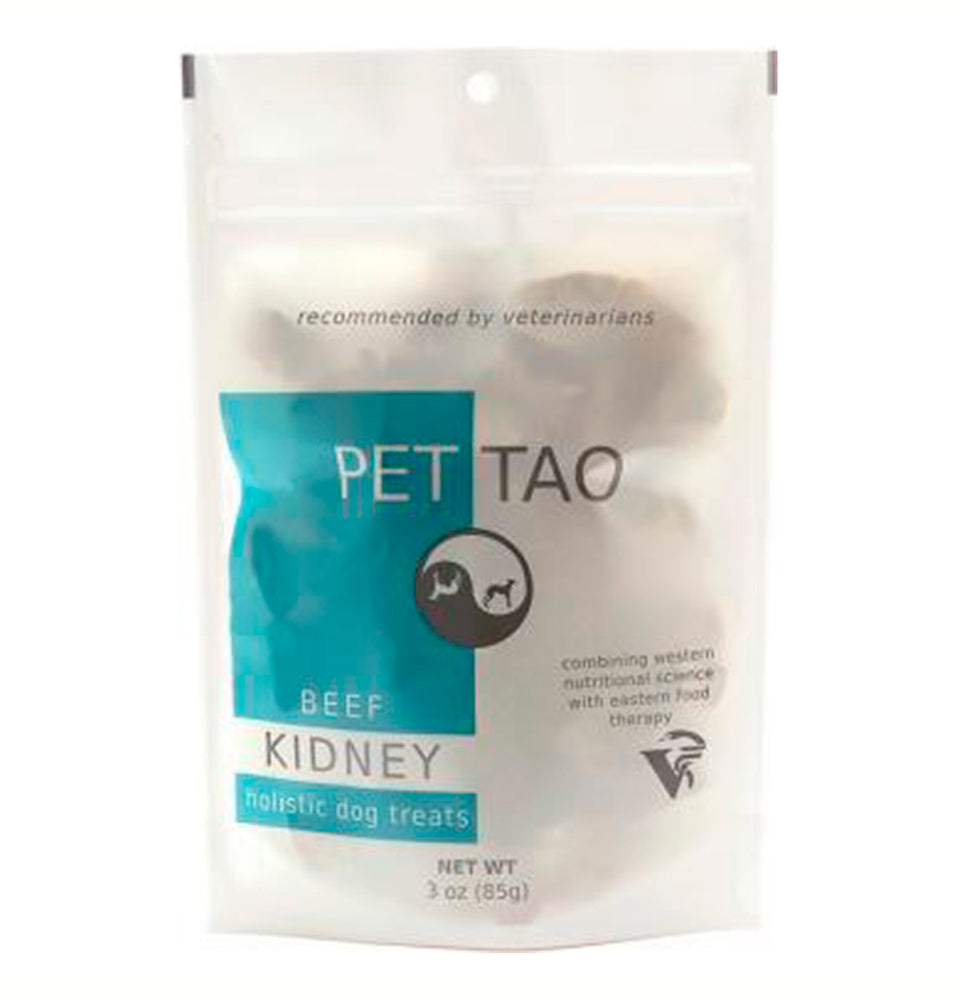 PET | TAO Freeze Dried Beef Kidney Dog and Cat Treats (3oz bag)