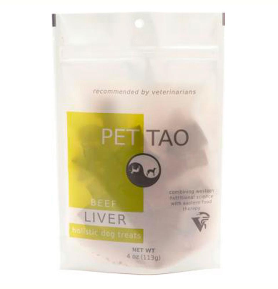 PET | TAO Freeze Dried Beef Liver Dog and Cat Treats (4oz bag)