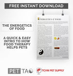 The Energetics of Food Free Instant Download