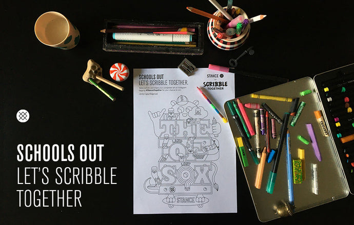 Schools out - We Scribble Together.