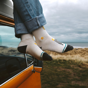 Stance-Socken – EXPLORERS PATCH – Off White