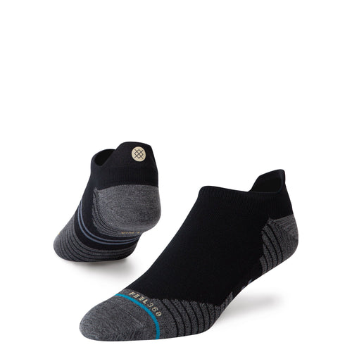 Stance-Socken – RUN LIGHT TAB – Schwarz