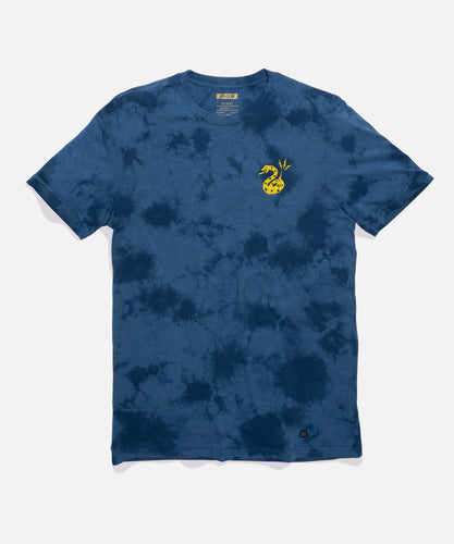 Stance T-Shirts Fang Tee Blue