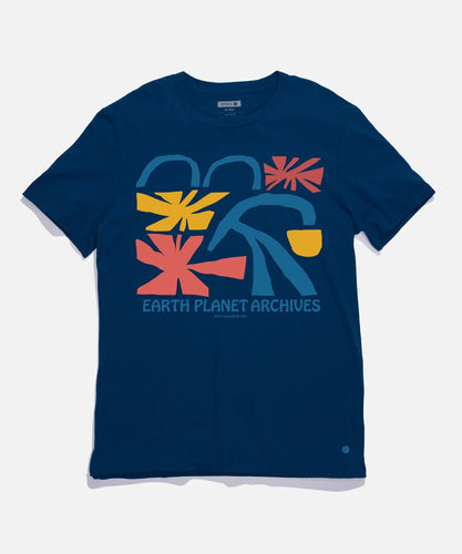 T-shirts Stance - ARCHIVES T-SHIRT - Bleu marine