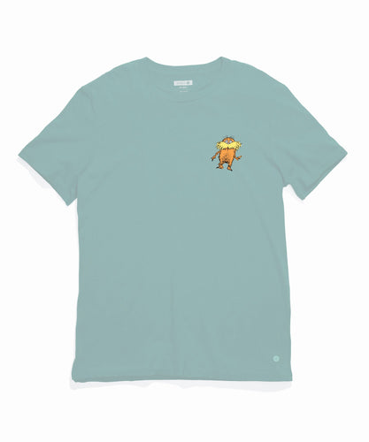 Stance Socks GILLS ARE GUNNED T-SHIRT Pastel Blue