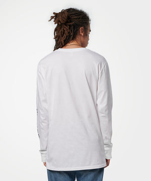 T-shirts Stance - T-SHIRT ICON MANCHES LONGUES - Blanc