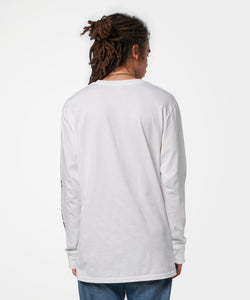 Stance T-Shirts ICON LONG SLEEVE T-SHIRT White