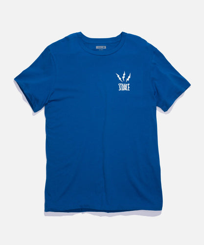 Stance T-Shirts CHAMBER TEE Blue