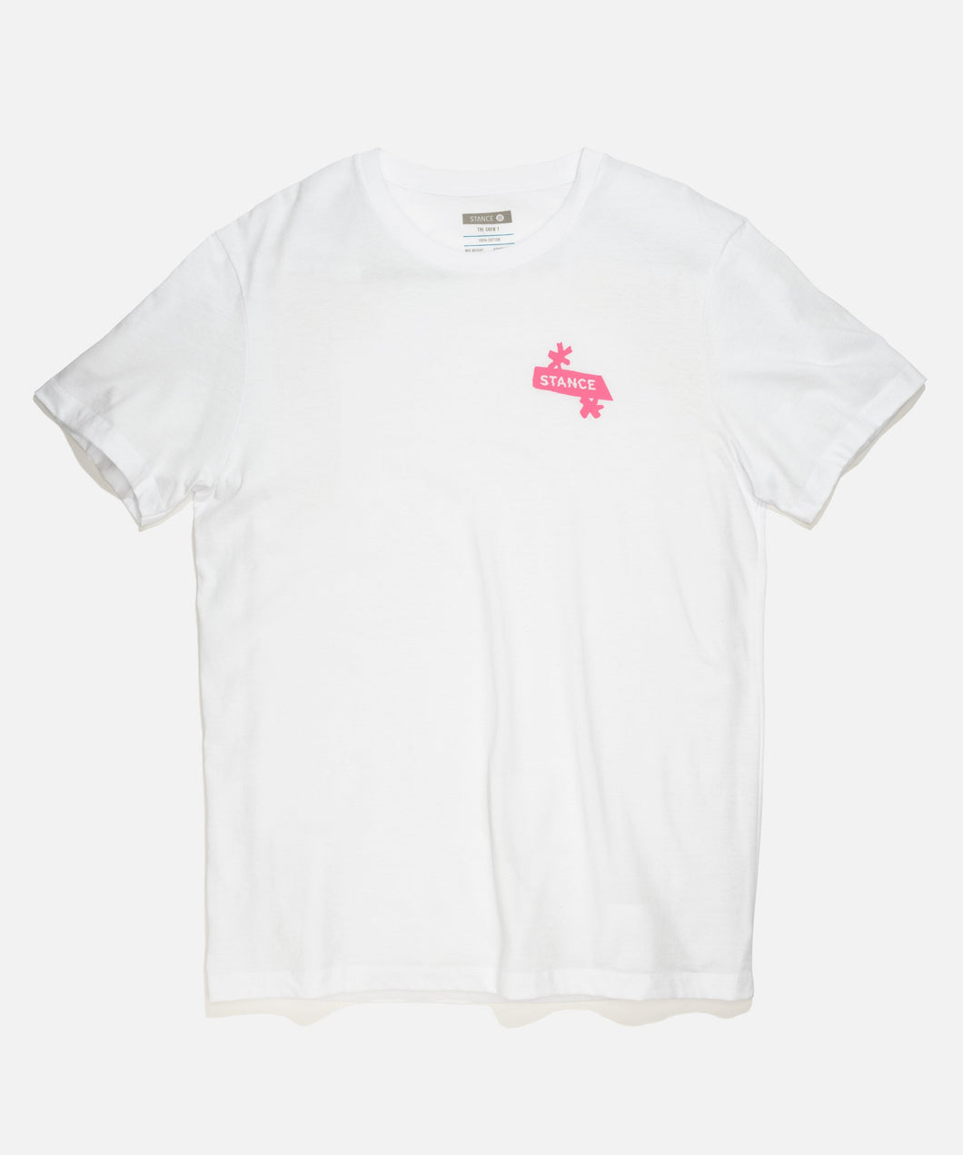 Stance T-Shirts NEST TEE White