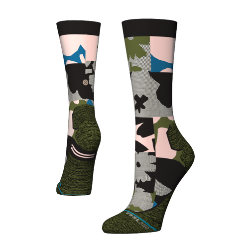 Stance Socks CAUGHT CREW CYCLING Black