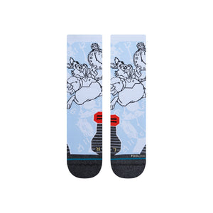 Chaussettes Stance - I'M LATE - Blanc