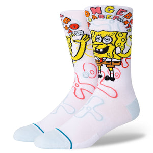 Stance Socks IMAGINATION BOB White