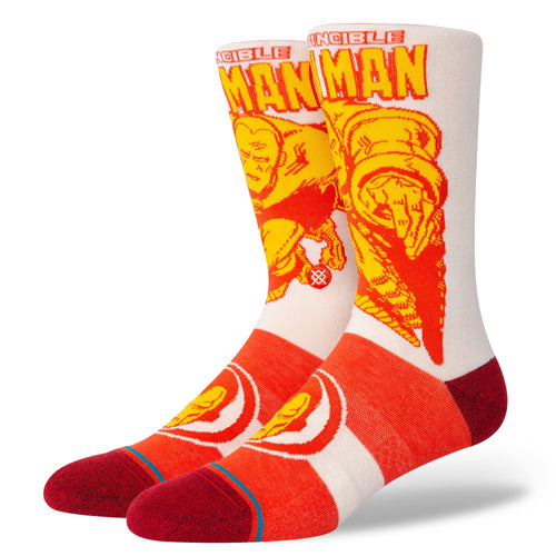 Chaussettes Stance - IRON MAN MARQUEE - Rouge