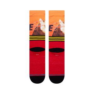 Stance Socks I WANNA GO FAST Red