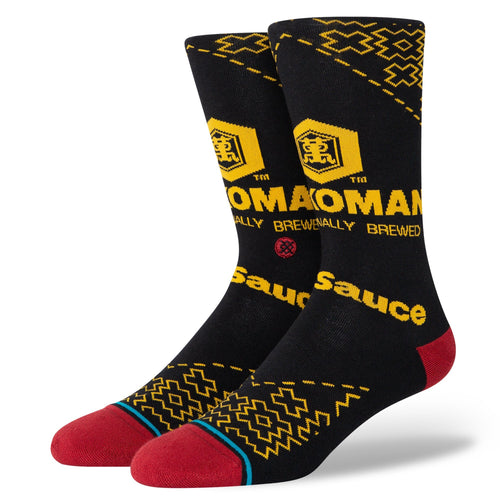 Stance Socks KIKKOMAN Black