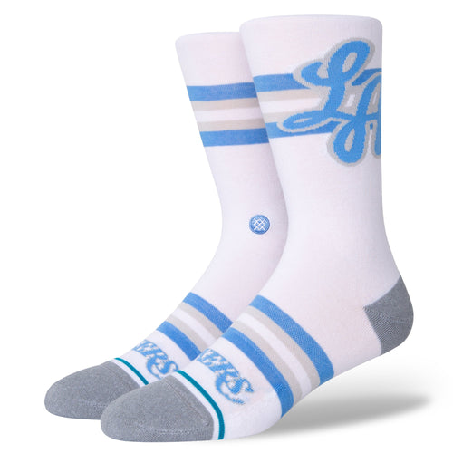 Stance Socks LAKERS CE White