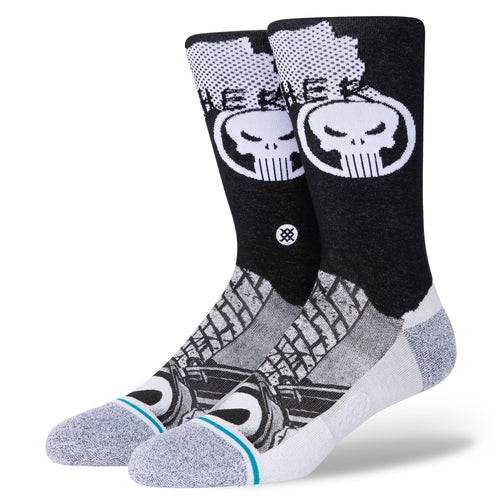 Stance Socks PUNISHER Black