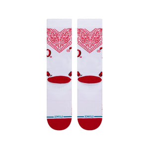 Stance Socks TAPATIO White