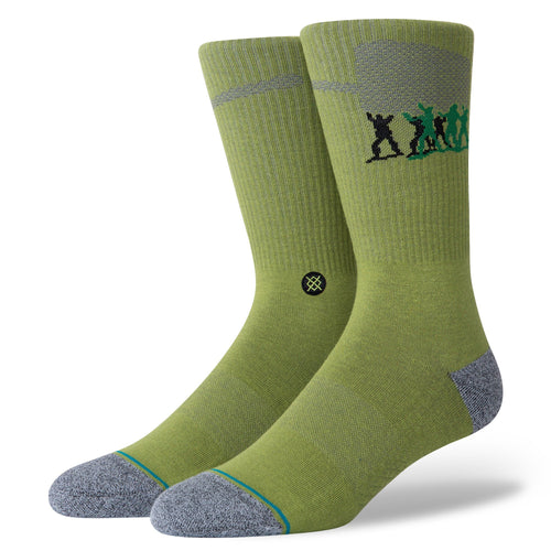 Chaussettes Stance - ARMY MEN - Vert