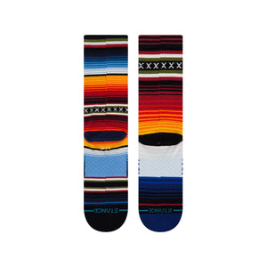 Stance Socks CURREN CREW Red