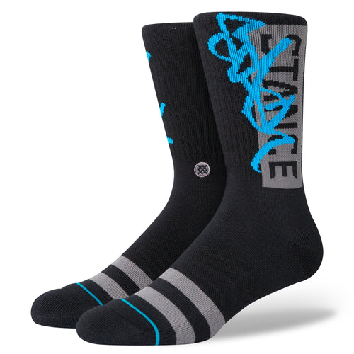 Stance Socks STASH OG Black