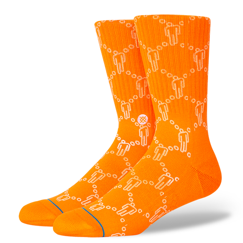 Chaussettes Stance - BLOSH - Orange