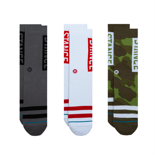 Chaussettes Stance - LOT THE OG 3 - Camouflage