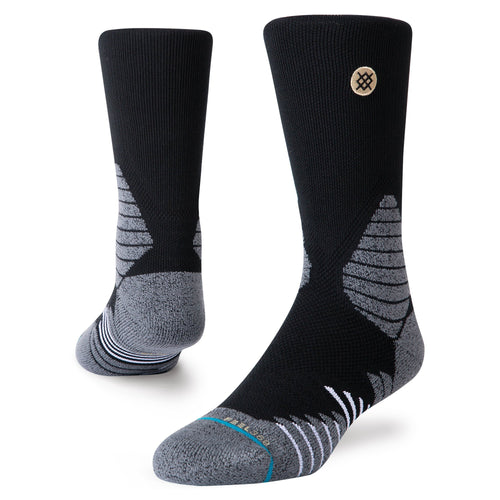 Chaussettes Stance - ICON HOOPS CREW - Noir