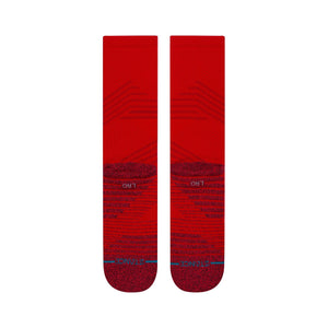 Chaussettes Stance - ATHLETIC CREW - Rouge