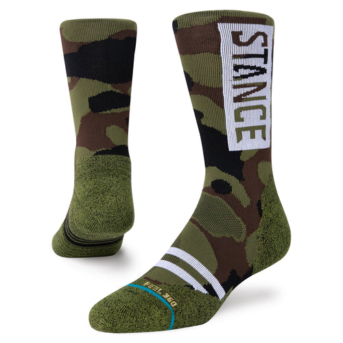 Chaussettes Stance - CAMO OG MTN - Camouflage