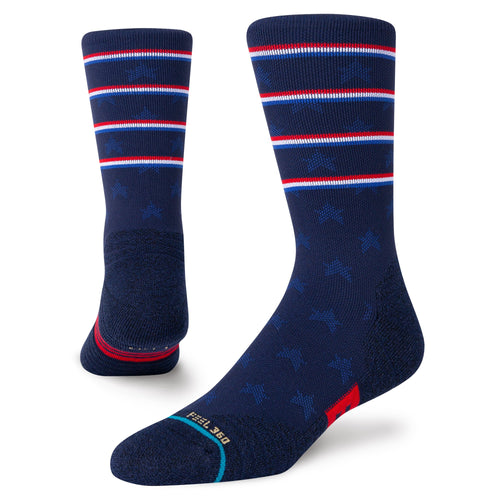 Chaussettes Stance - INDEPENDENCE CREW - Bleu marine