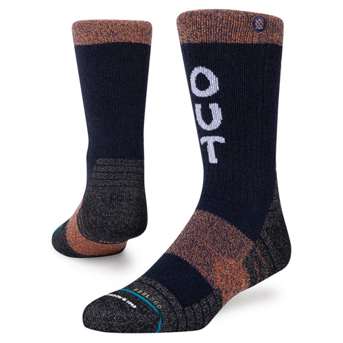Stance Socks TRIP OUT CREW Navy