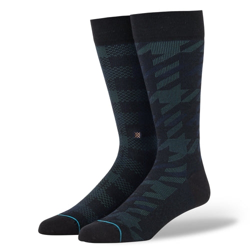 Stance Socks PLAID OUT Black