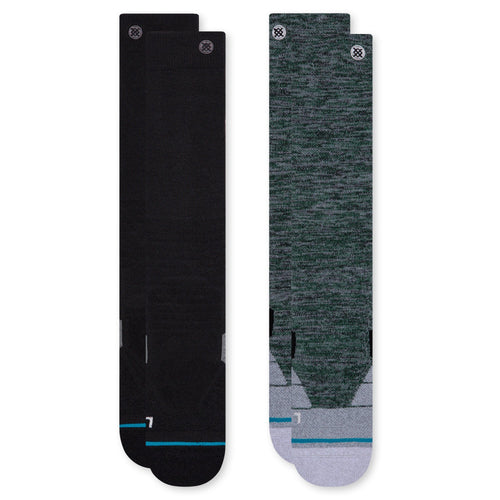 Stance Socks ESSENTIAL 2PK SNOW Multi