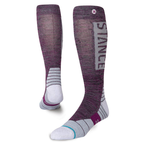 Stance Socks OG SNOW Black