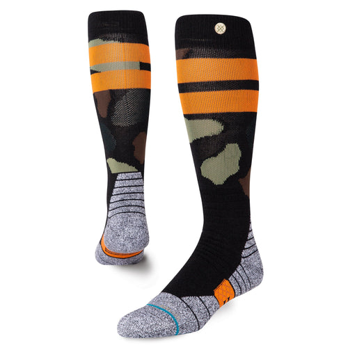 Stance Socks PRAISEY SNOW Black