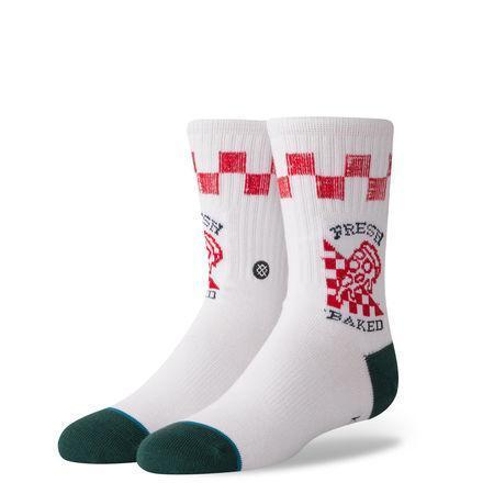 Stance Socks Fresh Baked Boys White