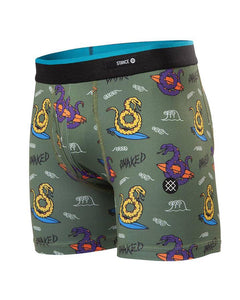 Chaussettes Stance - BOXER GET SNAKED - Vert