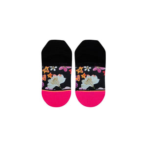 Stance Kids Socks Super Bloom Girls Black