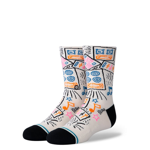 Stance Socks Kids Boom Box Kids Cream