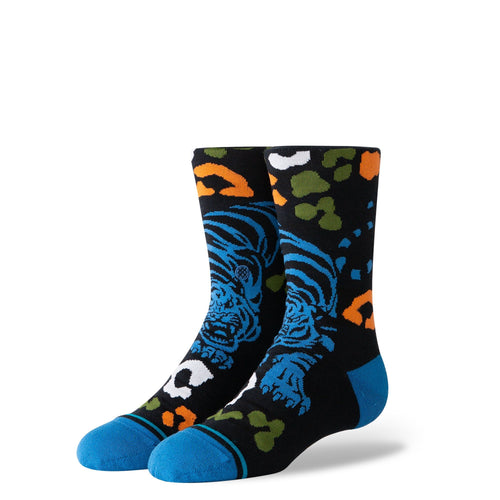 Stance Socks Kids Leo Tigre Kids Black