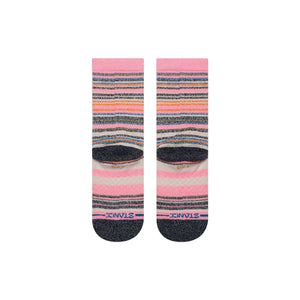 Chaussettes Stance Cleo Kids roses