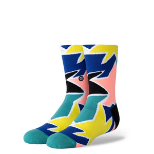 Stance Kids Socks Star Struck Crew Blue