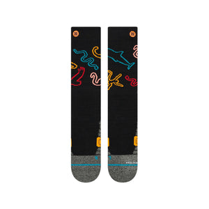 Chaussettes Stance - YOU ARE SILLY SNOW - Noir
