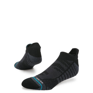 Stance Socks Training Uncommon Solids Tab Black