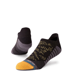 Stance Athletic Socks Disfunction Tab Black