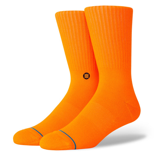 Stance Socks ICON Neon Orange