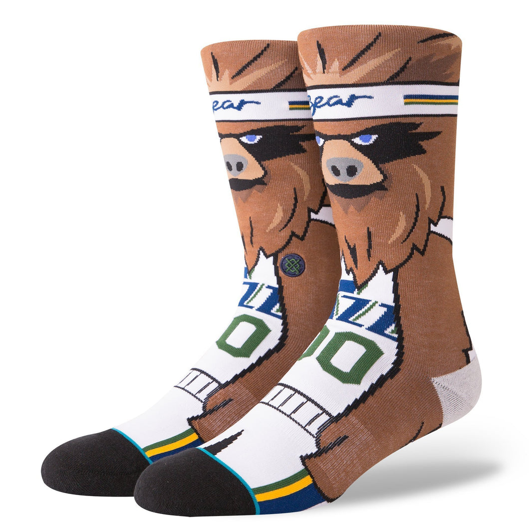 Stance Socks Jazz The Bear Brown